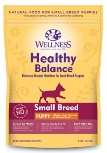[UP TO 30% OFF w/ FREE DENTAL KIT for Large bag] Wellness Healthy Balance Small Breed Puppy