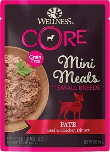 Wellness Small Breed Mini Meals Pate Beef & Chicken Dinner