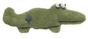 West Paw Design Groovin' Gator Plush Toy