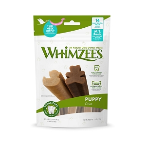 [BUY 2 FREE 1] Whimzees Value Bag Puppy M/L (14pcs)