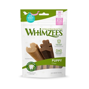 [BUY 2 FREE 1] Whimzees Value Bag Puppy XS/S (30pcs)