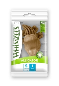 Whimzees Single Pack Alligator Small 1pcs