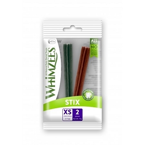 Whimzees Single Pack Stix XS 2pcs