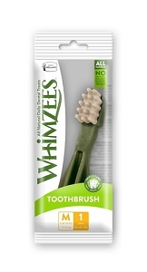 Whimzees Single Pack Toothbrush Medium 1pcs