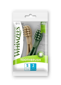Whimzees Single Pack Toothbrush Small 2pcs