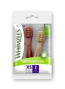Whimzees Single Pack Toothbrush XS 2pcs