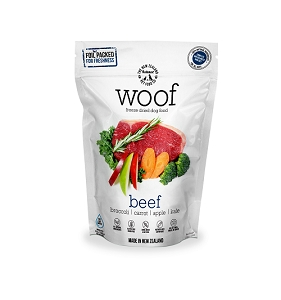 WOOF Freeze Dried Raw Beef