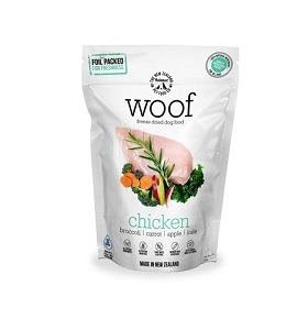 WOOF Freeze Dried Raw Chicken