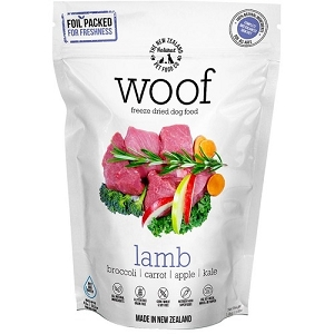 WOOF Freeze Dried Raw Lamb