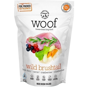 WOOF Freeze Dried Raw Wild Brushtail