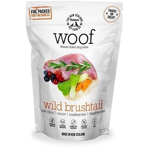 WOOF Freeze Dried Raw Wild Brushtail Dog Treats