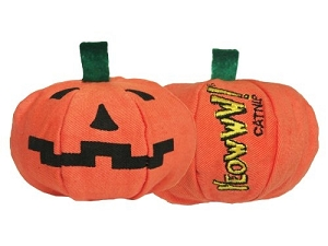 Yeowww! Halloween Pumpkin Catnip Toy
