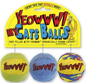 Yeowww! My Cats Balls Toy Set
