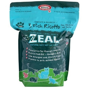 Zeal 3 Fish Risotto Soft Dry Cat Food