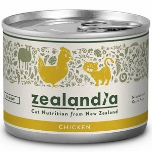 Zealandia Canned Free-Range Chicken Cat Food 170gm