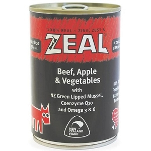 Zeal Canned Beef, Apple & Vegetables