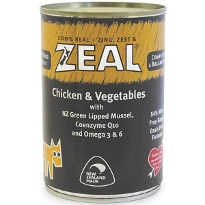 Zeal Canned Chicken & Vegetables