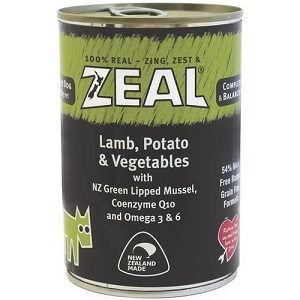 Zeal Canned Lamb, Potatoes & Vegetables