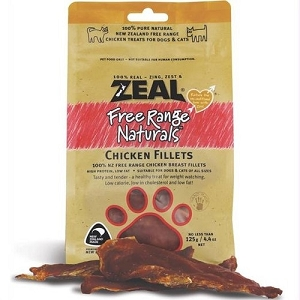 Zeal Free Range Naturals Chicken Fillets Cat & Dog Treats