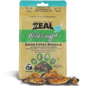 Zeal Free Range Naturals Green Lipped Mussels Cat & Dog Treats