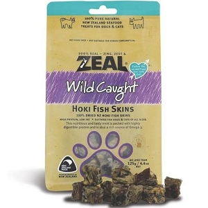 Zeal Free Range Naturals Hoki Fish Skins Cat & Dog