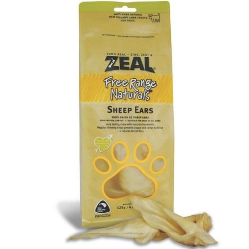 Zeal Free Range Naturals Sheep Ears Dog Treats