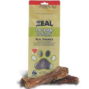 Zeal Free Range Naturals Veal Shanks Dog Treats