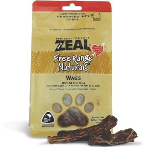 Zeal Free Range Naturals Wags Dog Treats