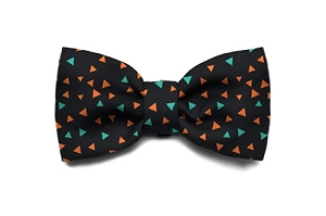 ZeeDog Triangles Bow Tie