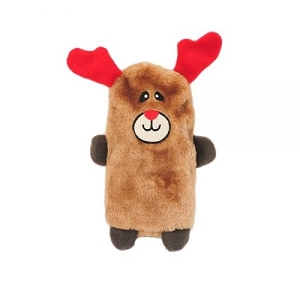 ZippyPaws Holiday Colossal Buddie Reindeer Plush Toy