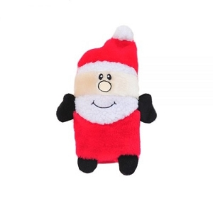 ZippyPaws Holiday Colossal Buddie Santa Plush Toy