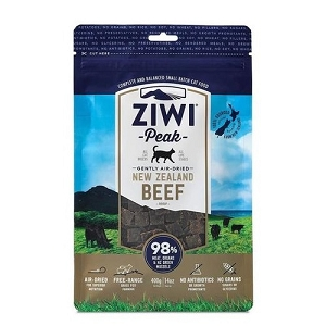Ziwipeak Air Dried Cat Food Beef 400gm
