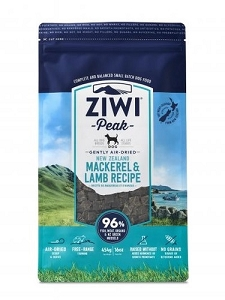 [Promo - Buy 4kg Get 1kg FREE] Ziwipeak Air Dried Dog Food Mackeral & Lamb