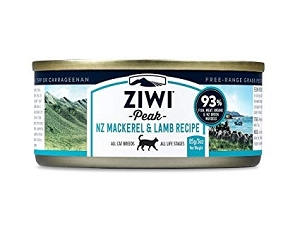 Ziwipeak Canned Cat Food Mackerel & Lamb