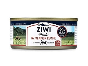 Ziwipeak Canned Cat Food Venison
