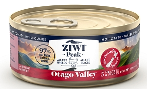 ZiwiPeak Wet Otago Valley Provenance Canned Cat Food
