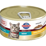 Science Diet Feline Canned Adult Indoor Cat Savory Chicken Entrée