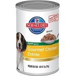 Science Diet Dog Canned Puppy Gourmet Chicken Entrée