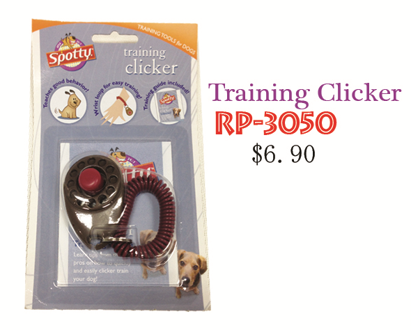 Spotty Training Clicker