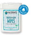 EarthBath Tooth & Gums Wipes