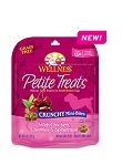 Wellness® Petite Treats Crunchy Mini-Bites with Chicken, Cherries & Spearmint