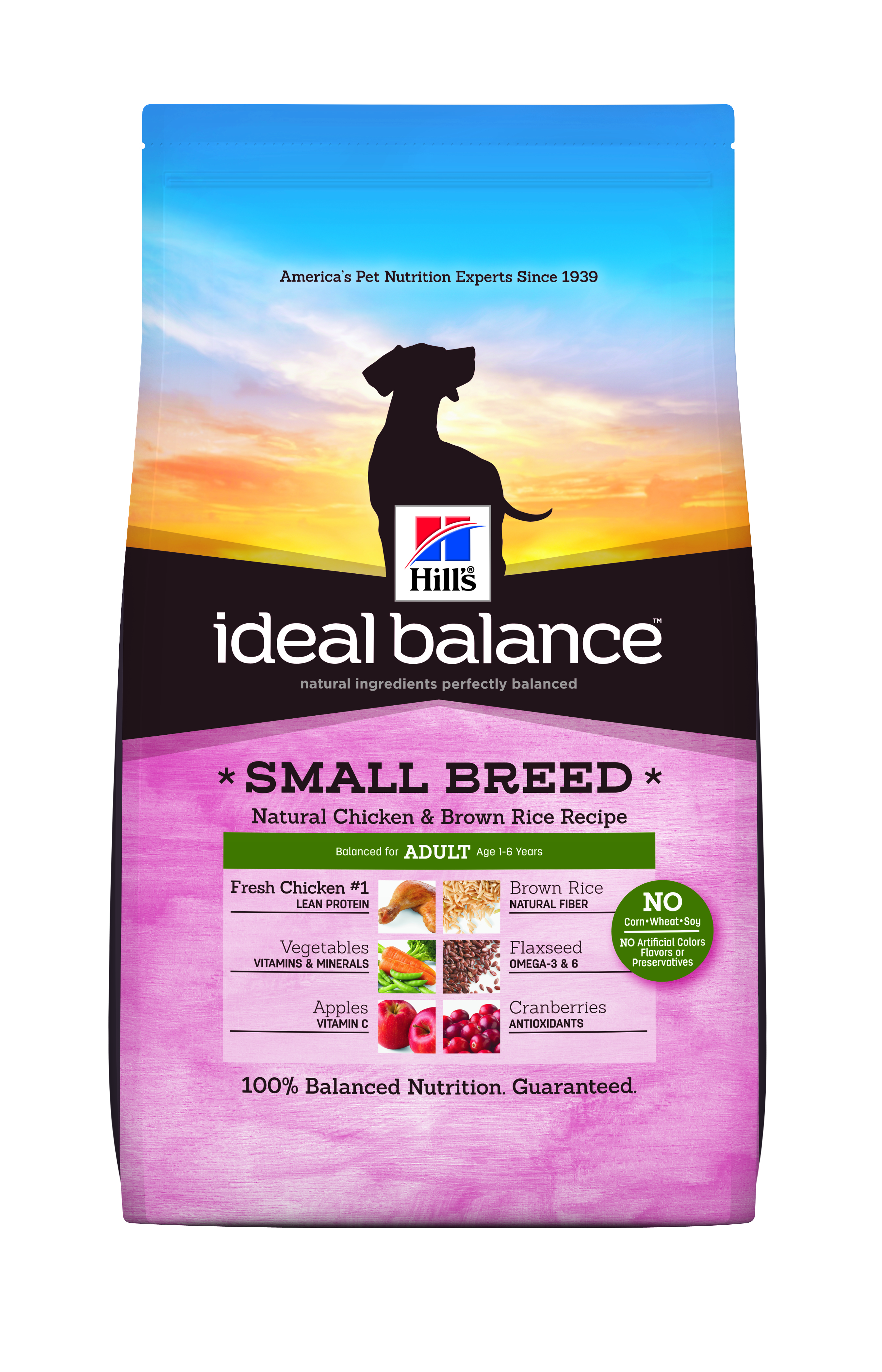 Review Hill S Ideal Balance Small Breed Dog Food