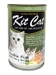 KitCat Cat Canned Super Premium Double Fish With Juicy Shirmp