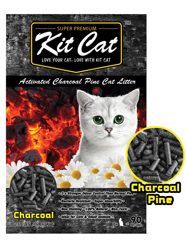 KitCat Activated Charcoal Pine