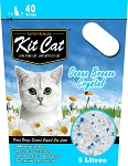 Kitcat Cat Crystal Litter Ocean Breeze 5L