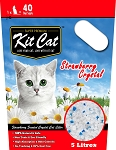 Kitcat Cat Crystal Litter Strawberry 5L