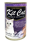 KitCat Cat Canned Super Premium Atlantic Tuna With Tender Chicken