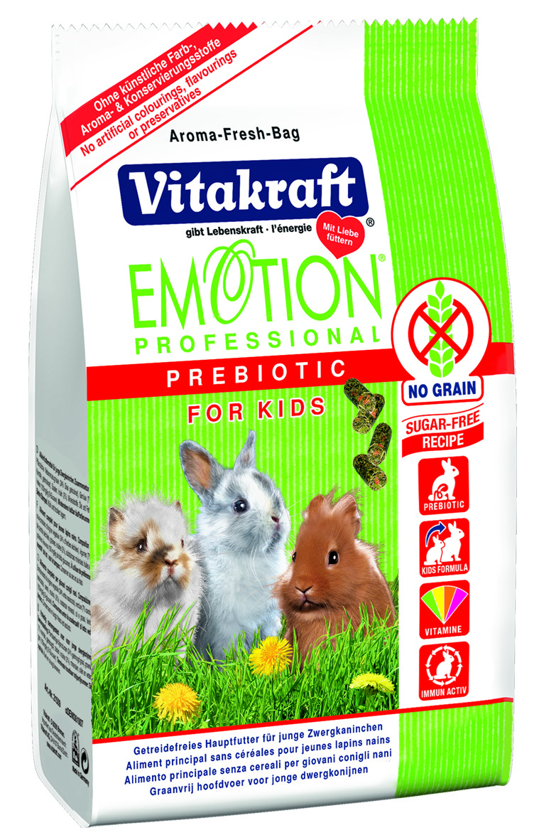 Vitakraft Emotion Professional Prebiotic For Young Rabbits (400g)