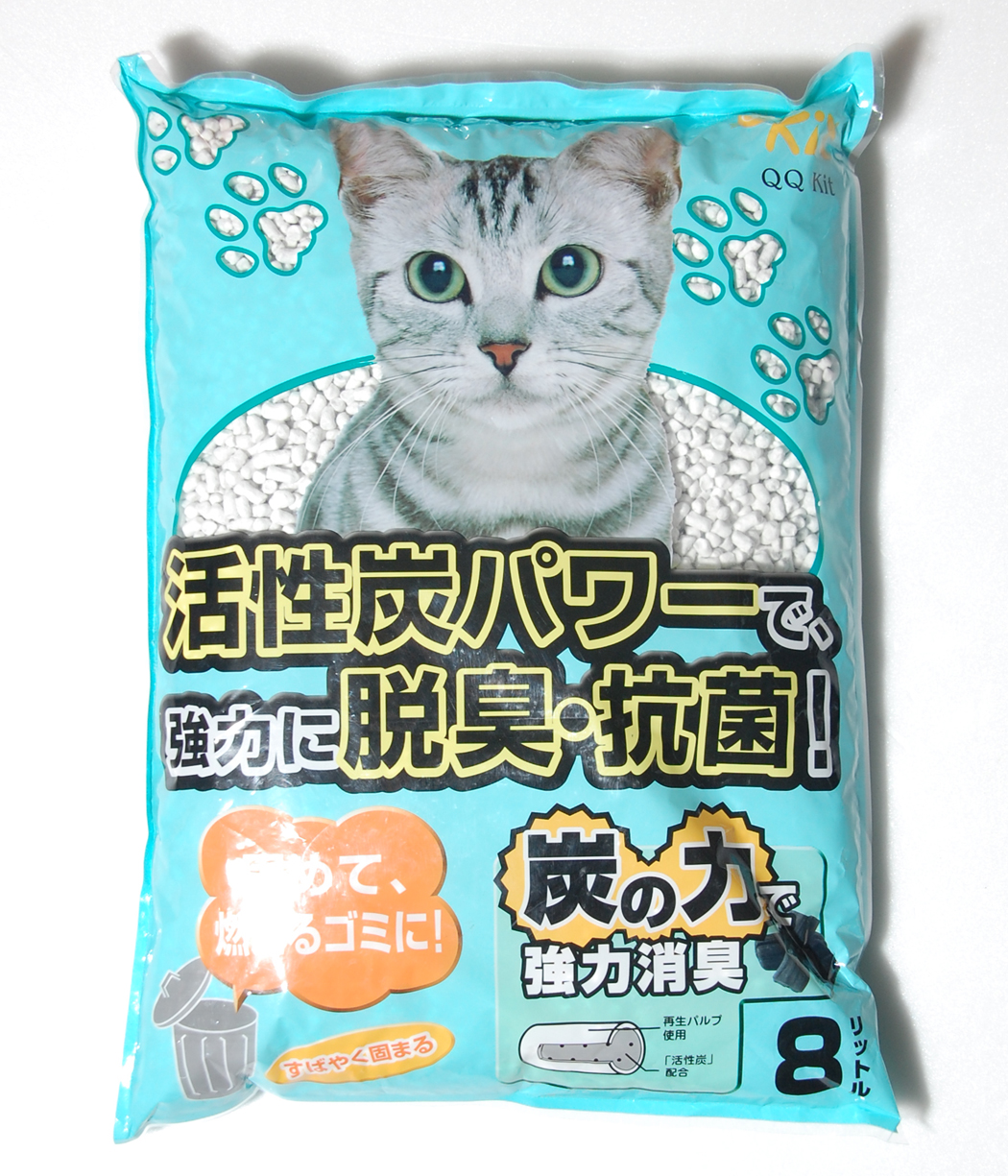 QQKIT Recyclable Paper Cat Litter
