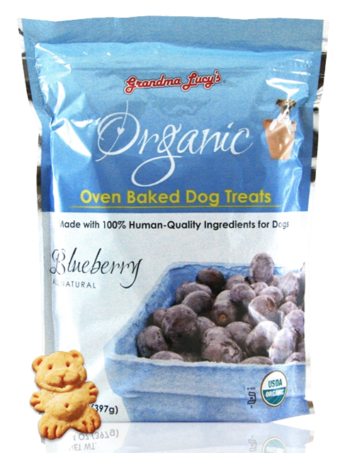 Grandma Lucy Organic Oven Baked Blueberry Biscuit